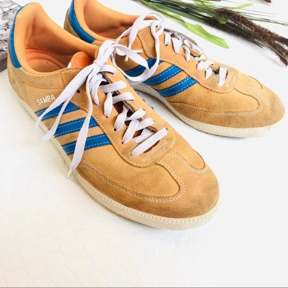 c07f1fb1d adidas Shoes | Samba Og Yellow Suede Sneakers | Poshmark